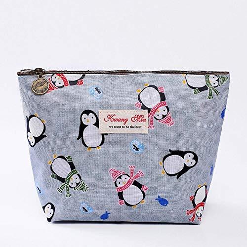 Cosmetic Bag Women Waterproof Toiletry Organizer Zipper Pouch Cosmetic Case-Blue_L_l