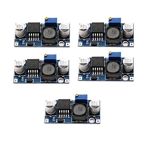 WINOMO LM2596 1.23-30V DC DC-Einstellbare Spannung Regler Konverter Schritt nach unten Module 5St