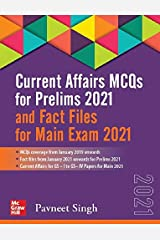 Current Affairs MCQs for Prelims 2021 and Fact Files for Main Exam 2021 | Third Edition Paperback