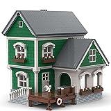 SENG Dockhaus II MOC-40967, 3146 piezas, juguete de construcción creativo modular para casa, compatible con tienda de pesca Lego 21310