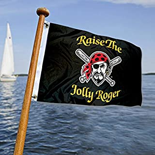 WinCraft Pittsburgh Pirates Boat and Golf Cart Flag