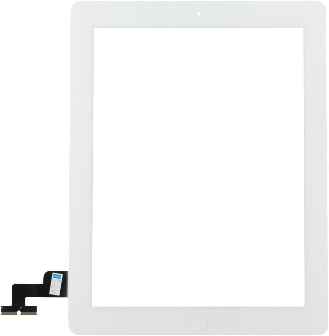 Repair Parts Plus for iPad 2 Screen Replacement Glass Touch Digitizer Premium Kit (9.7