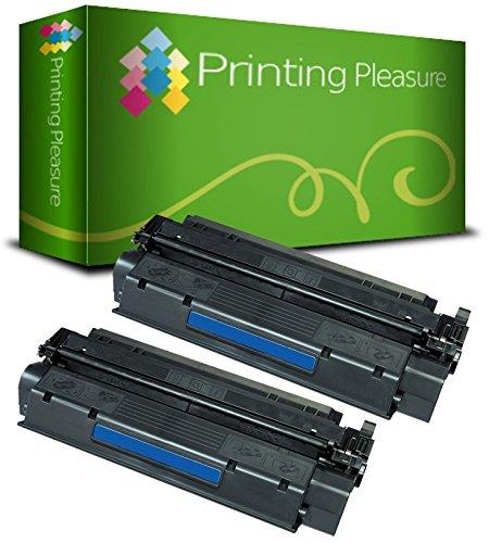 Printing Pleasure 2 Toner kompatibel für HP Laserjet 1000 1005 1200 1220 1300 3080 3300 3310 3320 3330 3380 Canon LBP-1210 LBP-558 Serie | C7115A 15A Q2613A 13A EP-25
