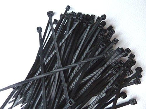 WKK Kabelbinder schwarz, 100x2,5mm, 100 Stück