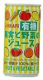 ヒカリ ヒカリ 有機果実と野菜のジュース 190g×30缶