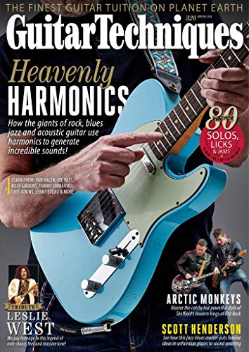 Best guitar magazine - Guitar Techniques