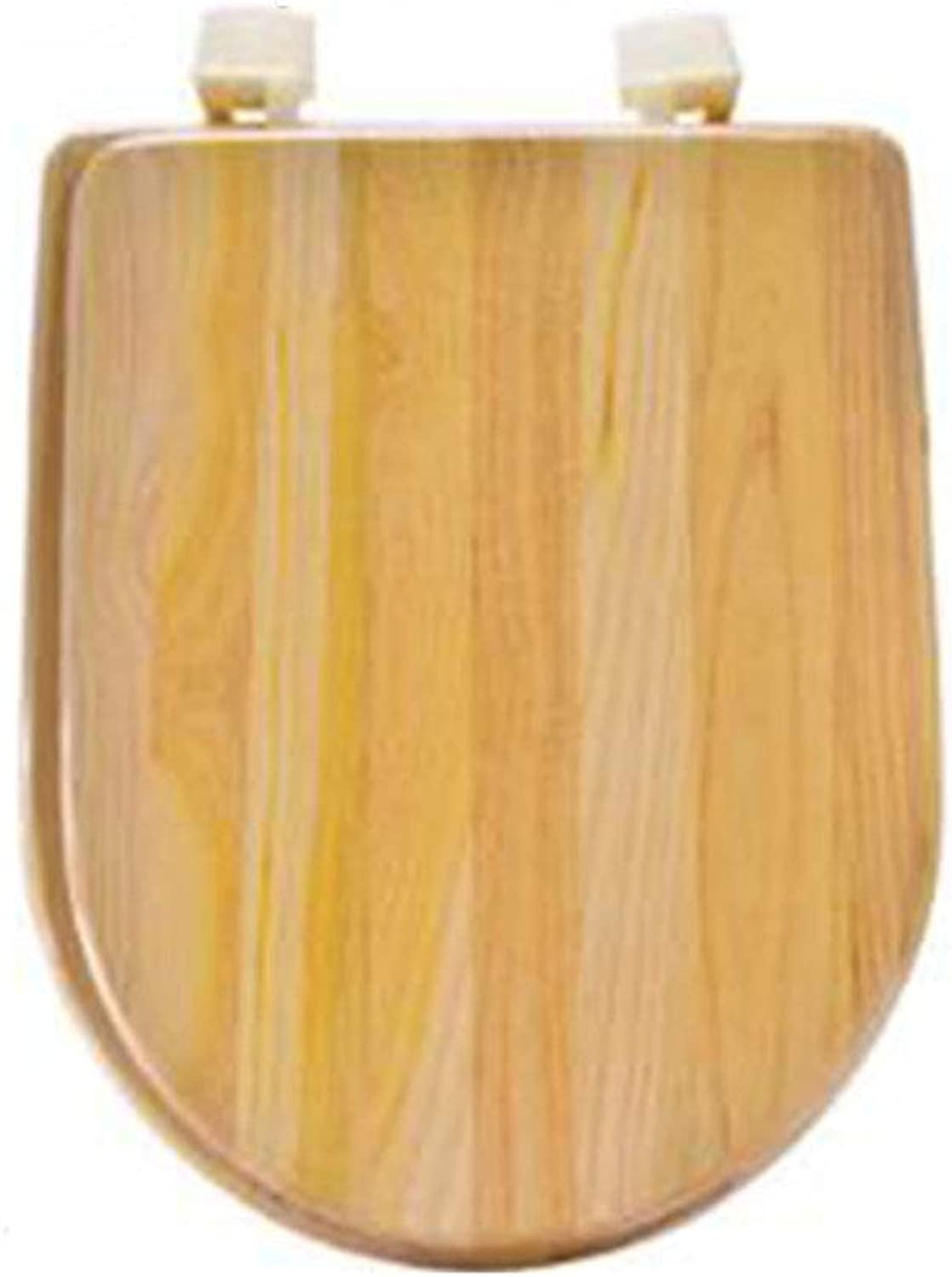 U-shaped, toilet seat solid wood toilet seat stable hinge easy to install