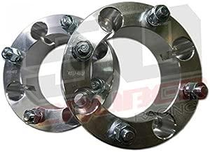 One Pair (2) Wheel Spacers -4x136.5 / 4x137-1.5 inch thick - 12x1.25mm Studs - Fit Kawasaki Teryx, Teryx4 [5217A20]
