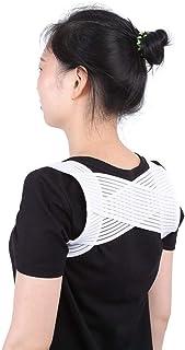 Back Brace Support Adjustable Posture Corrector Upper Back Belt Support Braces Spine Shoulder Back