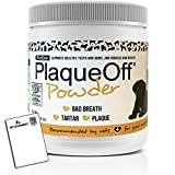 PlaqueOff Powder Supports Normal, Healthy Teeth, Gums, and Breath Odor for Cats...