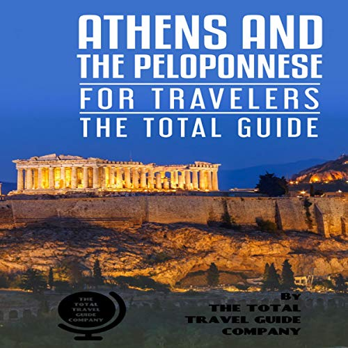 『Athens and the Peloponnese for Travelers - The Total Guide』のカバーアート