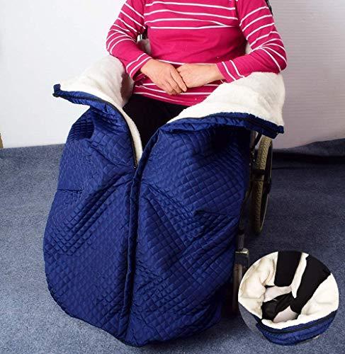 SHIYN wasserdichte Rollstuhldeck, Rollstuhl Bedeckte Warme Beindecke, Gemütlicher Beinumschlag, Universell Passend Für Manuelle Und Betriebene Rollstühle