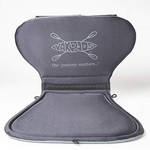Yakpads Low Back Cushioned Seat Pad, Gel Seat Pad for...