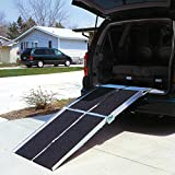 Prairie View Industries Portable Multi-Fold Reach Wheelchair Ramp, 36...