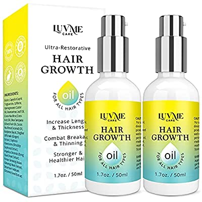 Luv Me Care Hair Growth Oil with Caffeine and Biotin 2 Pack