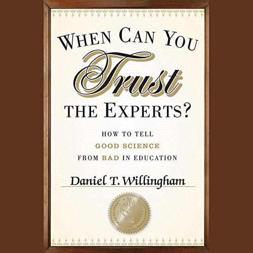 When Can You Trust the Experts?  By  cover art