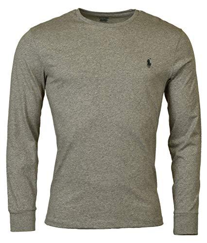 Polo Ralph Lauren Men's Long Sleeve Pony Logo T-Shirt - Large - Dark Vintage