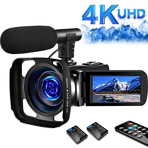 SAULEOO 4K Video Camera Camcorder...