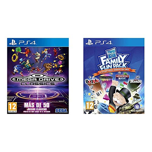 SEGA Mega Drive Classics + Hasbro Family Fun Pack