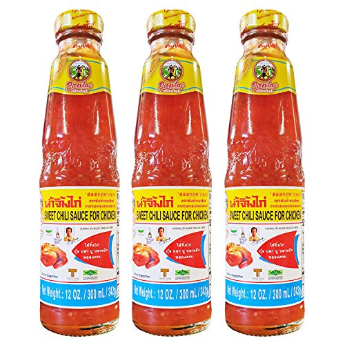Pantai Norasingh Thai Sweet Chili Sauce for Chicken (3 Pack, Total of 36oz)