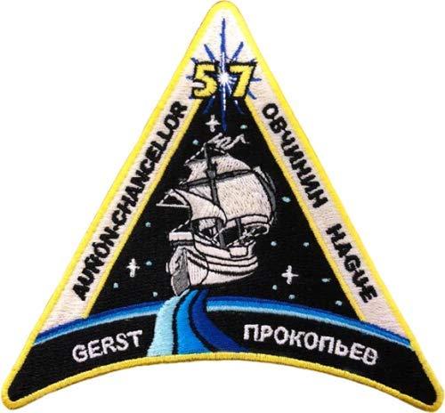 ISS 57. Ausseneinsatz (mit Alexander Gerst) Raumfahrt Aufnäher