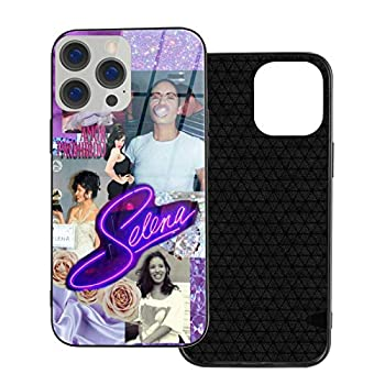 Selena Quintanilla Cases for iPhone 12 Pro Max Series TPU Glass Case for All Kinds of Ip12 Models TPU Soft Case + Tempered Glass Case