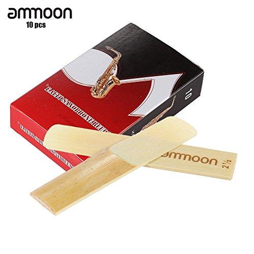 ammoon Piezas 10-pack 2.5 Fuerza las Cañas de Bambú