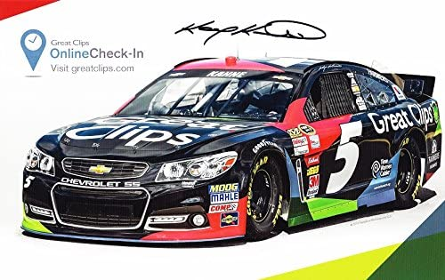 AUTOGRAPHED 2015 Kasey Kahne #5 Mot Weekly update Racing Bombing free shipping Great Hendrick Clips