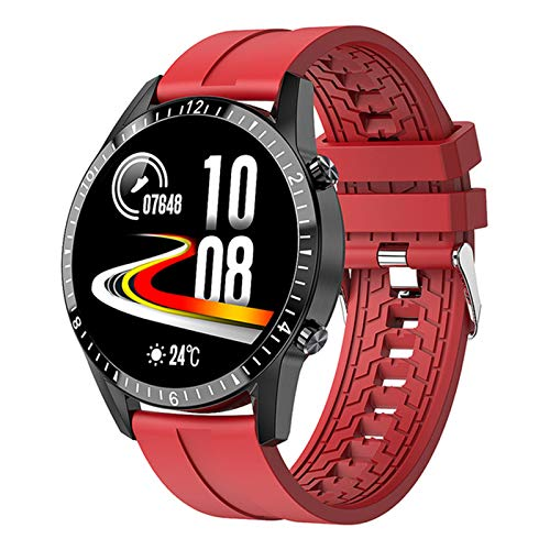 Smart Watch I9 Touch Screen Bluetooth Hands-Free Smartwatch Men's And Women's Fitness Tracker Heart Rate Call Information Music Band,E