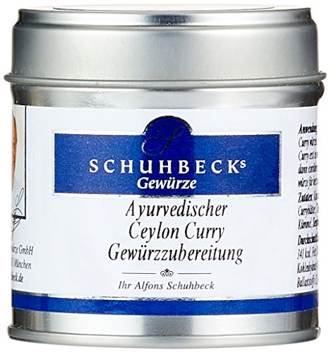 Schuhbecks Ayurvedischer Ceylon Curry, 3er Pack (3 x 50 g)
