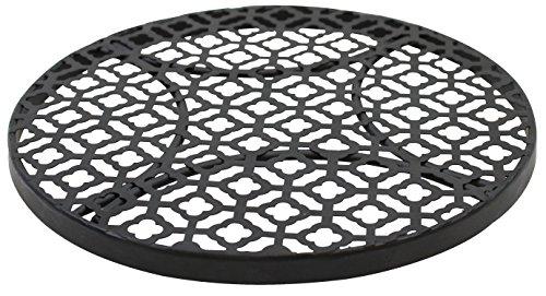 salvamanteles redondo negro fabricante Tablecraft