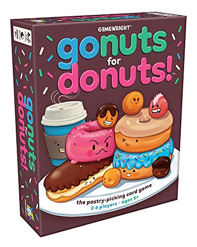 Gamewright - Gioco Go Nuts for Donuts [in Lingua Inglese]