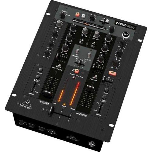 Behringer NOX 404 Mixer DJ a 2 canali professionale con interfaccia USB (sezione FX, Crossfader, compatibile Win & Mac)