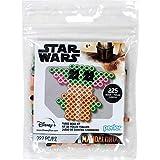 Perler 80-53457 The Mandalorian Baby Yoda Star Wars Mini Fuse Bead Activity Kit, 229pcs