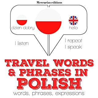 Travel words and phrases in Polish cover art