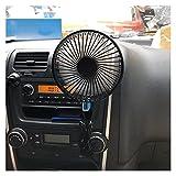 HAIMING Ventilador USB 3 Velocidad de Acoplamiento de Ventilador de Aire eléctrico con Ventilador con Encendido Apagado SWITC 5V 360 Grados de rotación de ángulo Ajustable Air Vent
