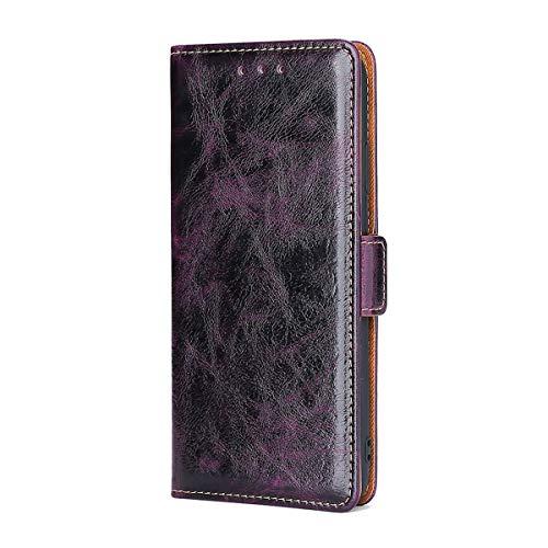 [GW3] Funda para LG K8 2017 M200N Funda Flip Cuero de la PU+ Cover Case de Silicona Protección Fija
