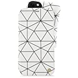 Holdit iPhone 11 ケース 手帳型 分離 ブランド おしゃれ 2way 白 ホワイト ワイヤレス充電対応 北欧 スウェーデン ハンドメイド London/Superstar White【日本初上陸モデル】