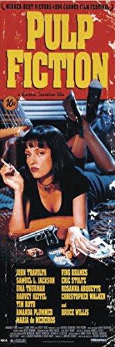 Close Up Pulp Fiction Poster Hauptplakat (Uma Thurman) (53cm x 158cm) + Ü-Poster