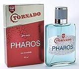 Tornado Pharos – Eau de toilette para hombres - 90 ml - vaporizador – Aroma amaderado & Oriental