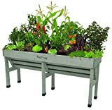 VegTrug 1.8m Wallhugger Planter Gray Wash