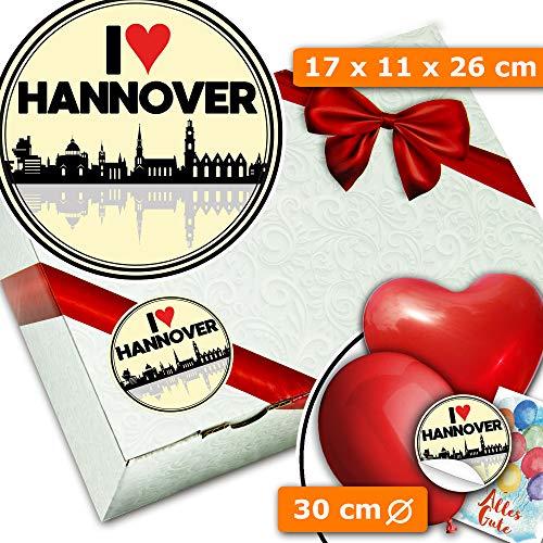 I love Hannover + Geschenksets + Hannover Geburtstag Geschenk