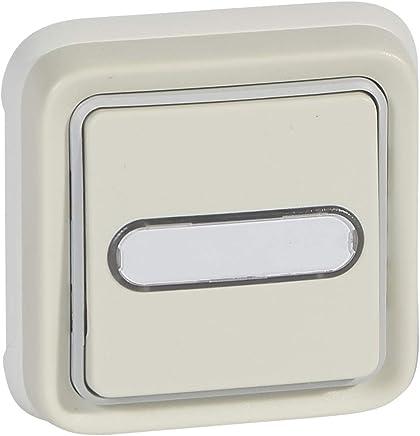Interruptores de luz s Legrand 0 770 50 Blanco interruptor de luz Inclinaci/ón, Blanco, 42 g, 10 pieza