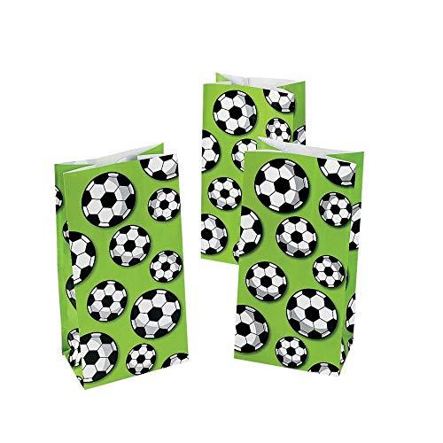 Soccer Treat Bags - 12 ct