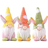 3 Pcs Easter Decorations,Handmade Gnome Faceless Plush Doll,Easter Gifts for Kids/Women/Men,Easter Decorations Ornaments for The Home…