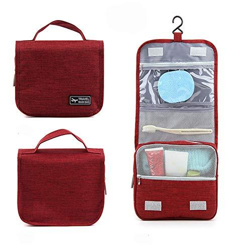Storage Bag for Travel, Bathroom Storage Bag, Oxford Cloth Waterproof Hook Wash Bag Travel Storage Bag