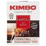 KIMBO - 10 CAPSULE COMPATIBILI A MODO MIO-NAPOLI - 75 GR