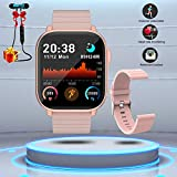 Smartwatch Orologio Fitness Uomo Donna Bambini Impermeabile Cardiofrequenzimetro Polso Con...