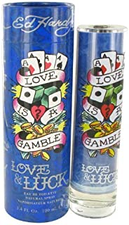 Love & Luck By Christian Audigier 3.4 oz Eau De Toilette Spray for Men