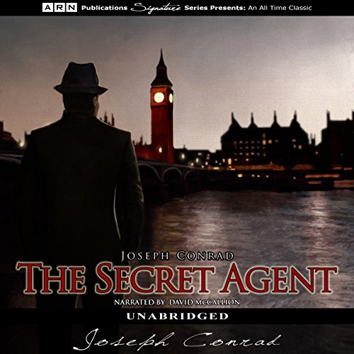 The Secret Agent audiobook cover art